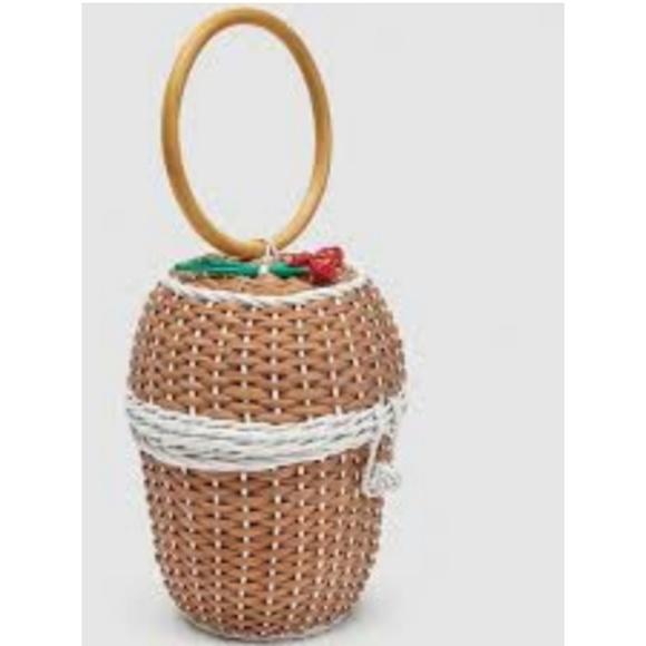 Zara Handbags - Zara handmade basket bag